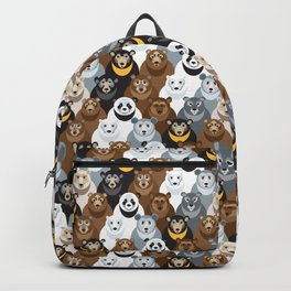 Bears Bears Bears Backpack