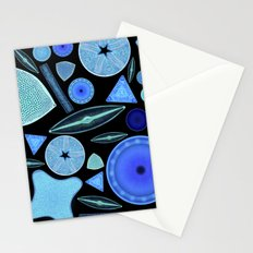 Diatoms Stationery Cards