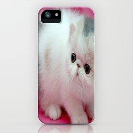 beyaz kedi iPhone Case