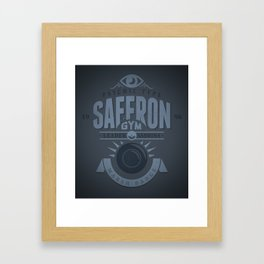 Saffron Gym Framed Art Print