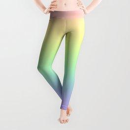 Pastel Rainbow Gradient! Leggings