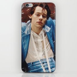 Harry Styles in Blue Suit iPhone Skin