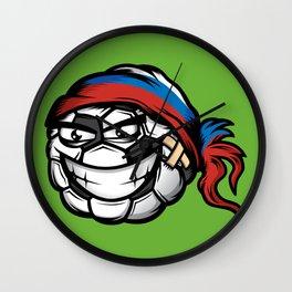 Football - Russia Wall Clock