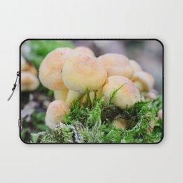 Sulphur tuft mushroom Laptop Sleeve