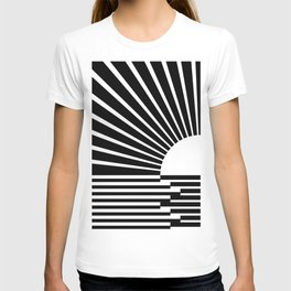 White rays T-shirt