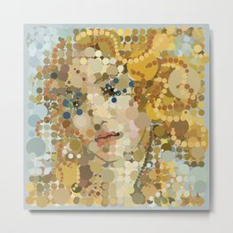 Dotticelli Venus (Square) Metal Print