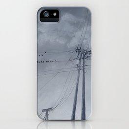 The Sky of the Man iPhone Case