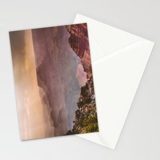 Grand Canyon Rainfall - South Rim Stationery Cards