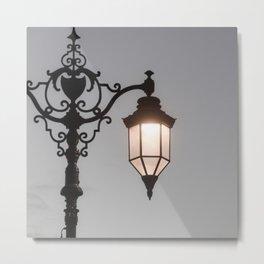 Victorian Lantern Metal Print