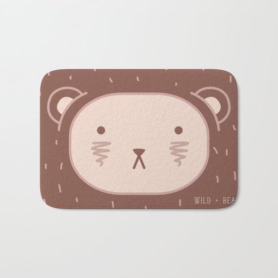 WILD + BEAR print Bath Mat