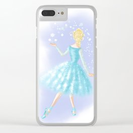 Hail to the Queen Clear iPhone Case