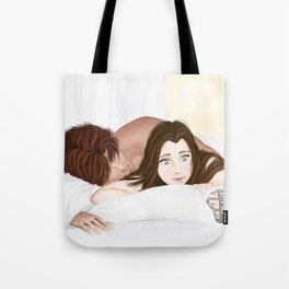 late for work Tote Bag