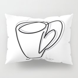 Cuppa Candor [Ivory] Pillow Sham
