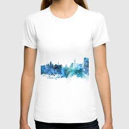 Calcutta (Kolkata) India Skyline T-shirt