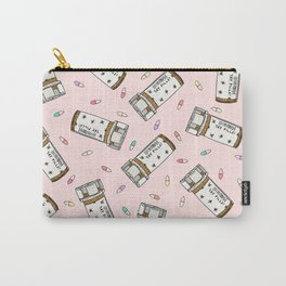 Rainbow Pill Pattern Carry-All Pouch