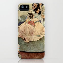 """""""King of the Mountains of the Moon"""" by Charles Robinson iPhone Case"""