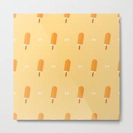 Orange popsicles Metal Print