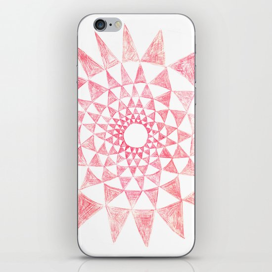 mandala:triangles iPhone & iPod Skin