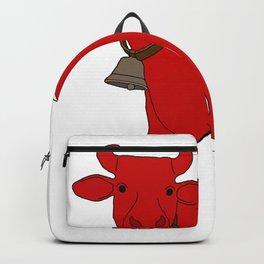 Stripe Swiss Cow Backpack