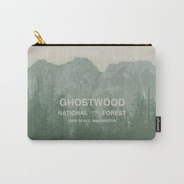 Ghostwood National Forest Twin Peaks Carry-All Pouch