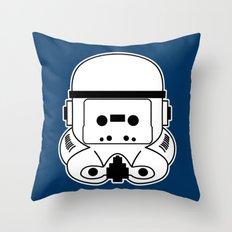 Cassette Trooper Throw Pillow