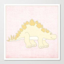 Dinosaur Series Print Canvas Print