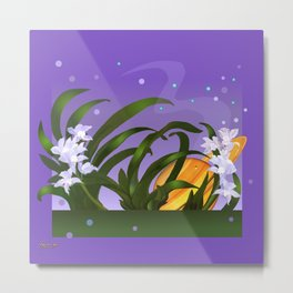 The Flowering of the Universe Metal Print
