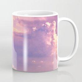 Whimsical Unicorn Lavender Clouds Coffee Mug