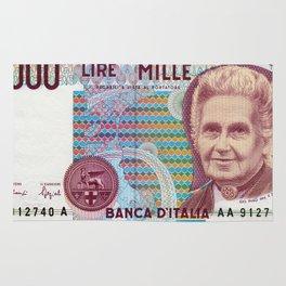 1000 lire Rug