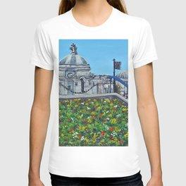 Spring at City Hall, Cardiff T-shirt