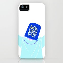 YOUR SOCIAL MEDIA COMMENTS iPhone Case