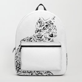 Abstract cats Backpack