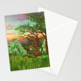 Blue Ridge Mountain Sunset Stationery Cards
