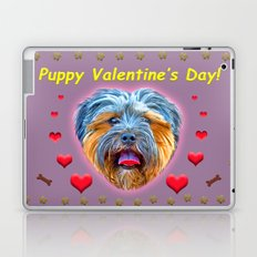 Puppy Valentine's Day! Laptop & iPad Skin