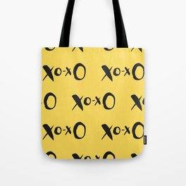 Kisses XOXO Lemon Zest Tote Bag