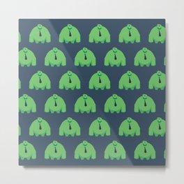 Ike Pattern Metal Print