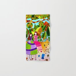 Alice in Wonderland #12 Hand & Bath Towel