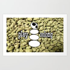 Play Oolong Art Print