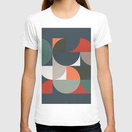 Mid Century Geometric 14/2 T-shirt