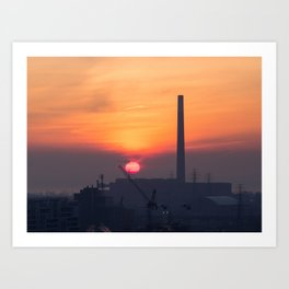 Sunrise over the Portlands Art Print