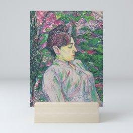 The Greens by HT-L Mini Art Print