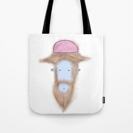 Hipster monkey brain Tote Bag