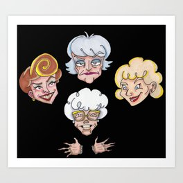 All That Glitters Is Old Art Print