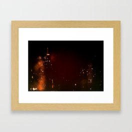 Lost in Some City No. 1 Framed Art Print