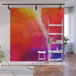 For the Love of Color Wall Mural