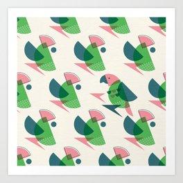 Brid Century Modern - Bird VII Art Print