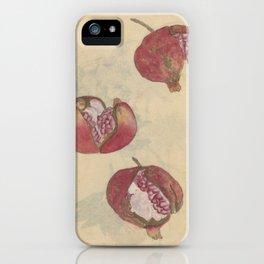 Pomegranates iPhone Case