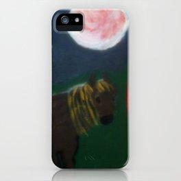 Horse And Gypsy Caravan iPhone Case