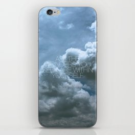 Wonder Cloud iPhone Skin