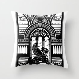 Old City Throw Pillow